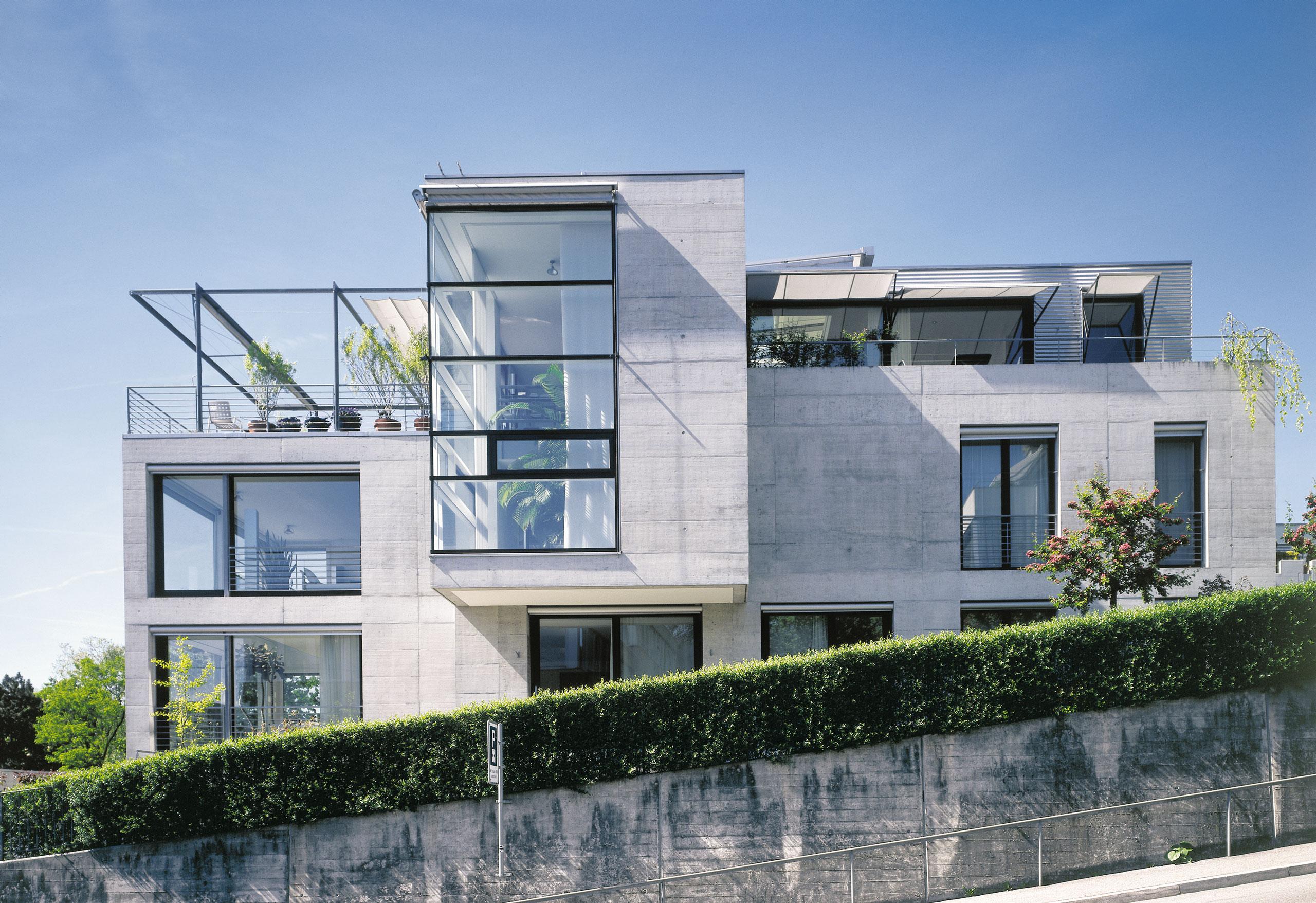 Wohnhaus mit atelier z rich bob gysin partner bgp - Bob gysin partner bgp architekten ...