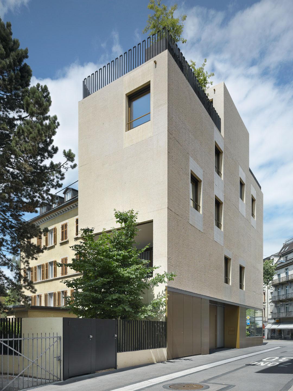Wohn und atelierhaus z rich bob gysin partner bgp - Bob gysin partner bgp architekten ...