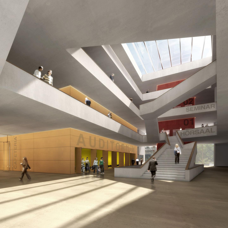 Fachhochschule d sseldorf d sseldorf bob gysin partner bgp - Bob gysin partner bgp architekten ...