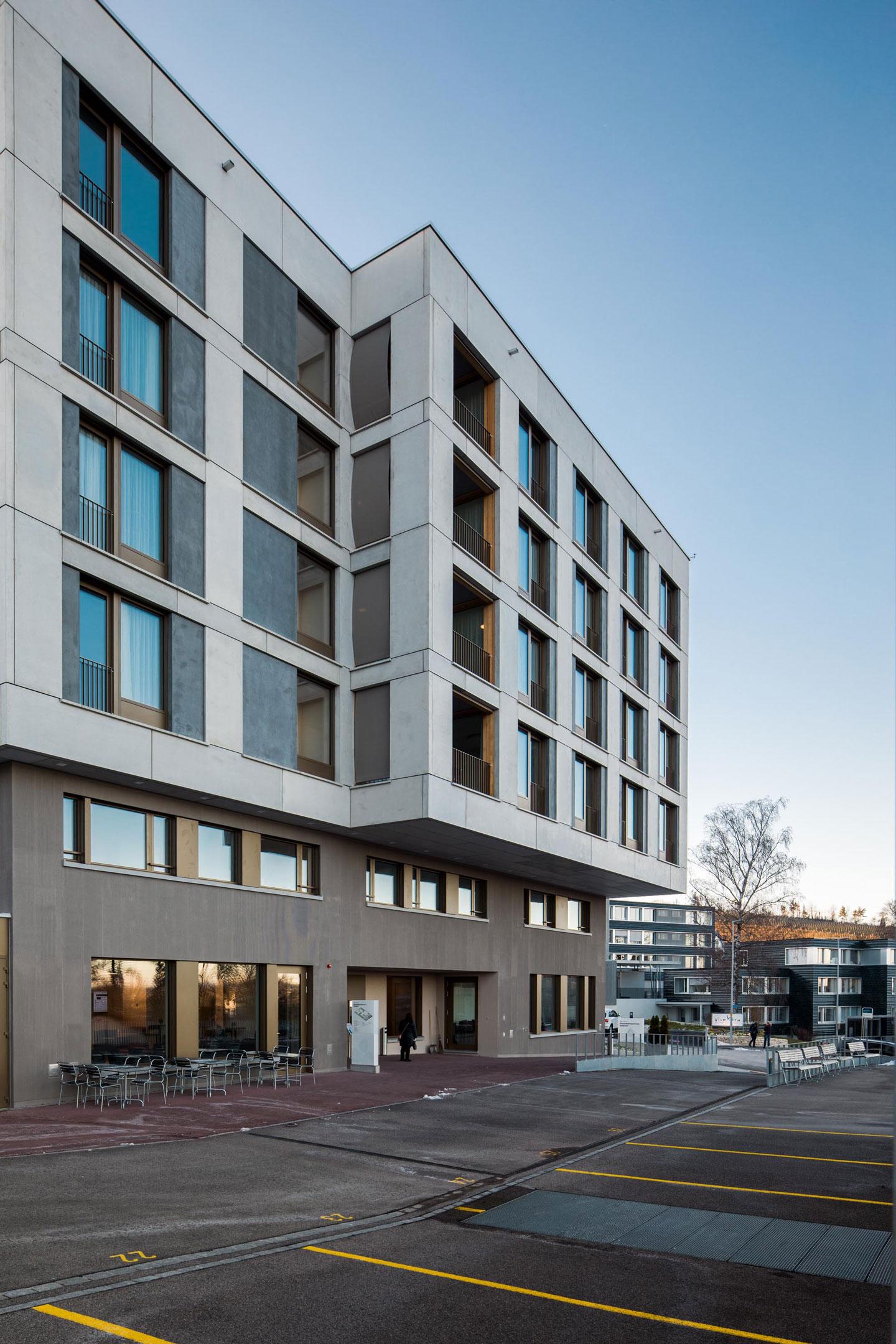 Erweiterung gesundheitszentrum dielsdorf bob gysin partner bgp - Bob gysin partner bgp architekten ...