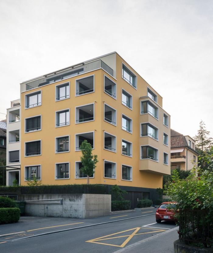 Wohnbauten ettenfeldstrasse z rich bob gysin partner bgp - Bob gysin partner bgp architekten ...